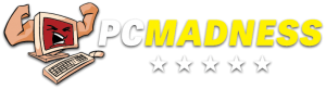 PC Madness Logo - Transparent